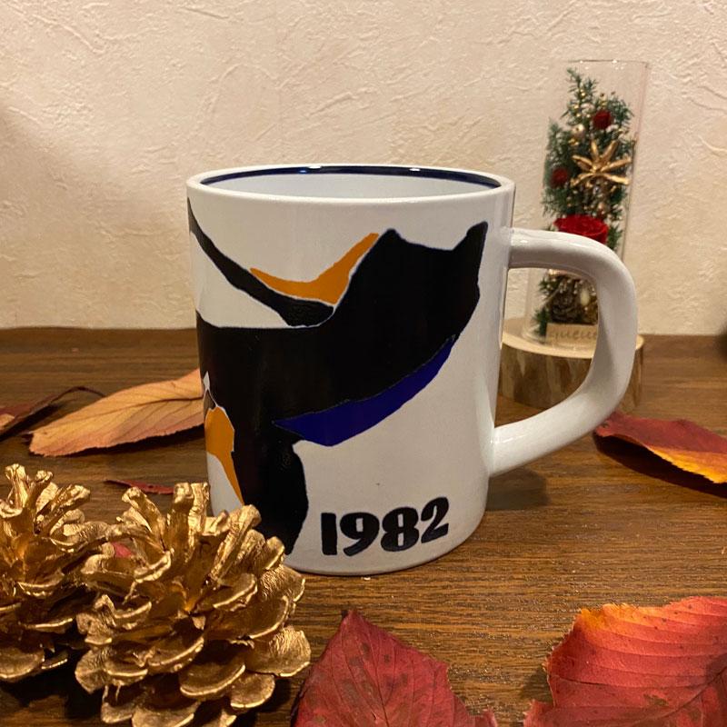 デンマーク食器/イアーマグカップ1982年 Lサイズ ROYALCOPENHAGEN(ロイヤルコペンハーゲン)/マグカップ Inge Lise Koford