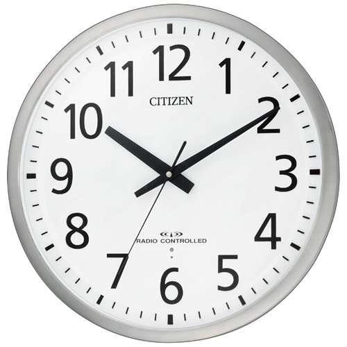newestshop: Citizen rhythm clock large size wall clock office type