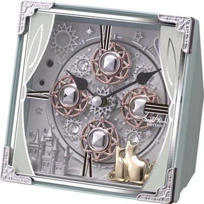 RHYTHM rhythm clocks small world Cosmo 4RH784RH04 clock quartz