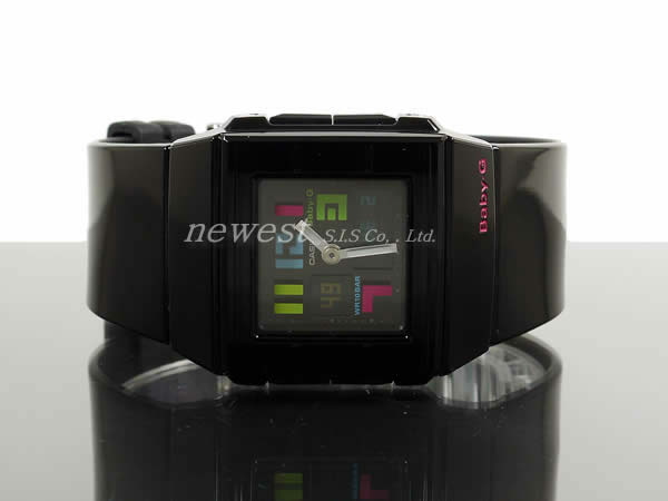 Casio Baby-G CASKET BGA-200PD-1B ポッピング X black watch foreign countries model