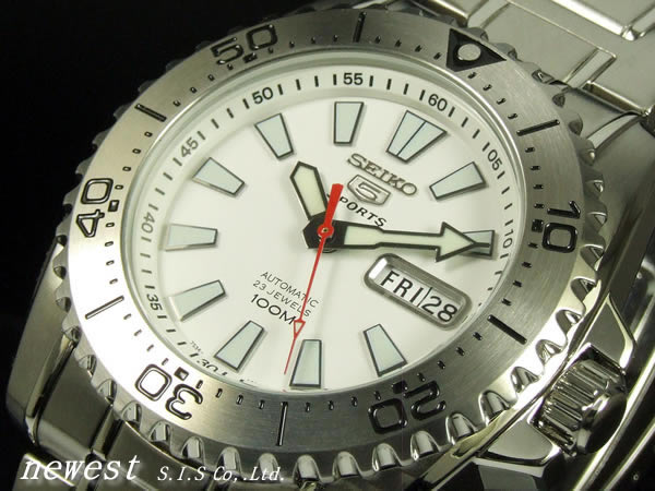5 SEIKO sports self-winding watch SNZG43K1 foreign countries models