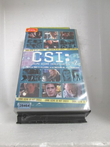 r1_71283 【中古】【VHSビデオ】CSI:SEASON2 科学捜査班 7【字幕版】 [VHS] [VHS] [2005]