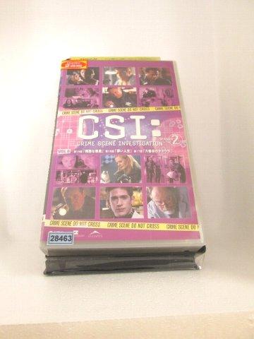 r1_71324 SALE 中古 VHSビデオ CSI:SEASON2 科学捜査班 6 数量限定 2005 VHS 字幕版