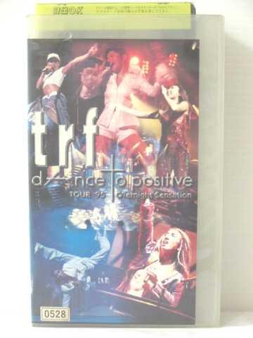 r1_79295 中古 VHSビデオ trf TOUR'95 dAnce to VHS Overnight 授与 positive ☆国内最安値に挑戦☆ Sensation 1995