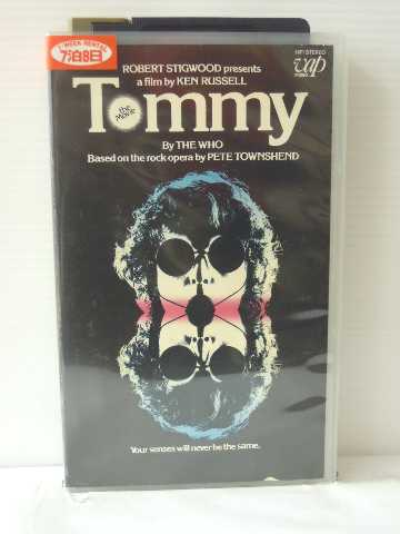 r1_84398 【中古】【VHSビデオ】Tommy [VHS] [Import] [VHS] [1974]