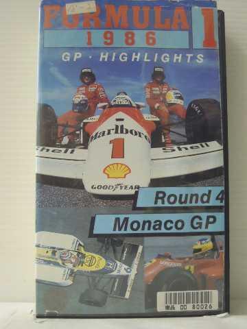 r1_84452 【中古】【VHSビデオ】F1GP'86モナコGP [VHS] [VHS] [1986]