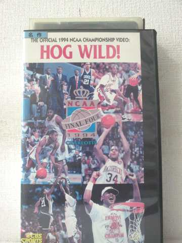 r2_02781 【中古】【VHSビデオ】ホッグ・ワイルド~ファイナル・フォー'94 [VHS] [VHS] [1994]