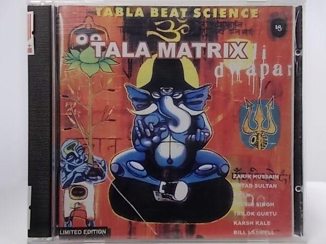 ZC62771 中古 CD TALA TABLA SCIENCE 大人気 BEAT 特価 MATRIX