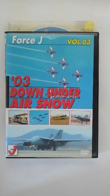 オーストラリアでの南半球最大の航空ショー ZD37389 中古 DVD Air Show 優先配送 爆安 SHOW2003年 AIR Vol.3'03 DOUN UNDER ダウンアンダーエアショー