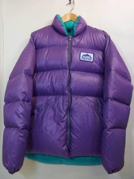 カナダ製 KLUANE ダウンジャケット 紫 L ダックグース クルアネ 【中古】