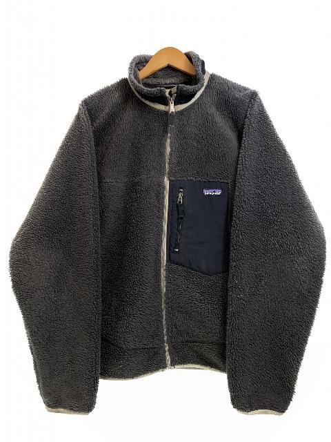 07年製 patagonia Classic Retro-X Jacket (CHARCOAL GREY) L 00s パタゴニア レトロX フリースジャケット 灰 チャコールグレー 23055F7 【中古】