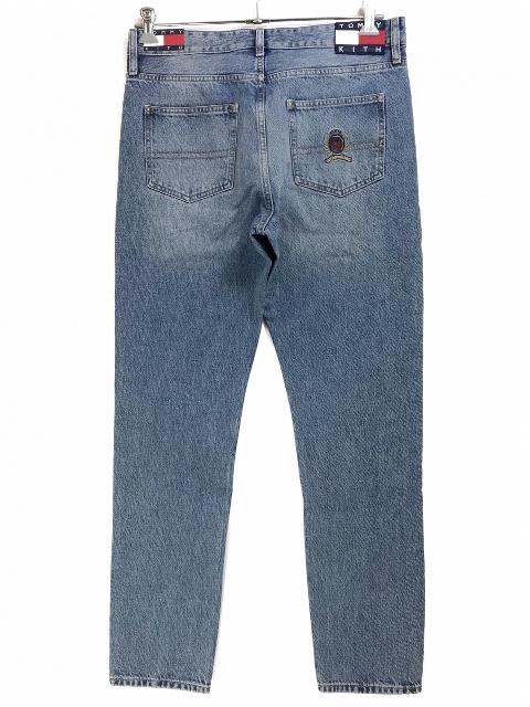 KITH × TOMMY HILFIGER 5 POCKET DENIM PANT (VINTAGE BLUE) キース キス トミーヒルフィガー デニムパンツ コラボ ロニーフィーグ 18FW 【新古品・未使用】