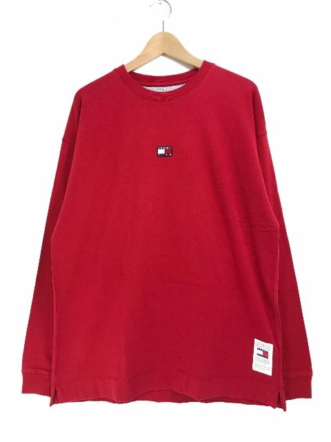 KITH × TOMMY HILFIGER MINI FLAG L/S TEE (RED) キース キス トミーヒルフィガー フラッグ 長袖 Tシャツ ロンT 赤 コラボ ロニーフィーグ 18FW 【新古品・未使用】