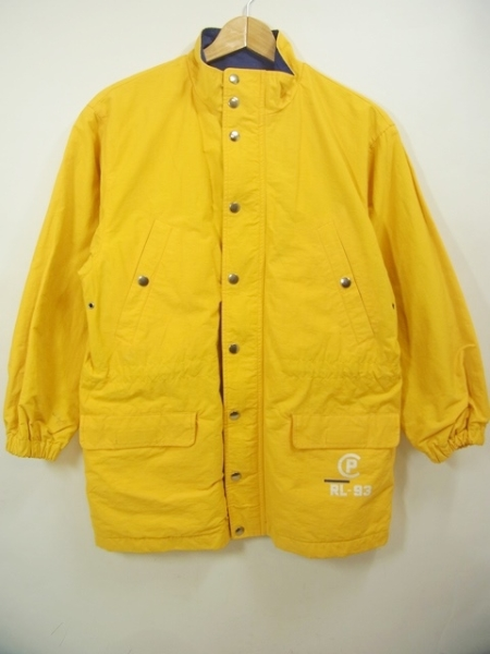 90s Polo Ralph Lauren CPRL-93 Nylon Jacket 黄 150 ポロ ラルフローレン ナイロンジャケット 92【中古】