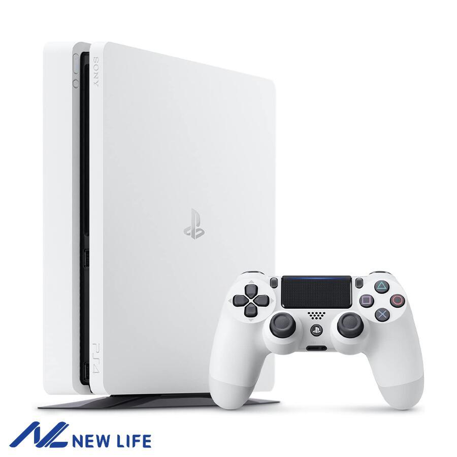 【新品未使用】PlayStation 4 グレイシャー・ホワイト 500GB (CUH-2200AB02) ▽▲