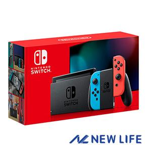 2019年8月30日以降 バッテリー持続時間が長くなった新モデル 18%OFF Nintendo Switch 本体 JOY-CON L 新作製品、世界最高品質人気! ネオンブルー 新型モデル ニンテンドースイッチ R HAD-S-KABAA ■ ネオンレッド バッテリー強化版 任天堂