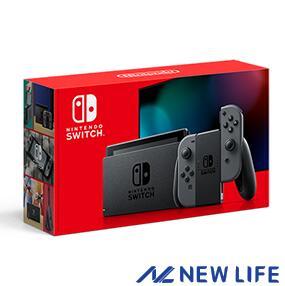 2019年8月30日以降 定番スタイル バッテリー持続時間が長くなった新モデル Nintendo Switch 本体 グレー 任天堂 新型モデル あり 大人気 ■ バッテリー強化版 HAD-S-KAAAA ニンテンドースイッチ