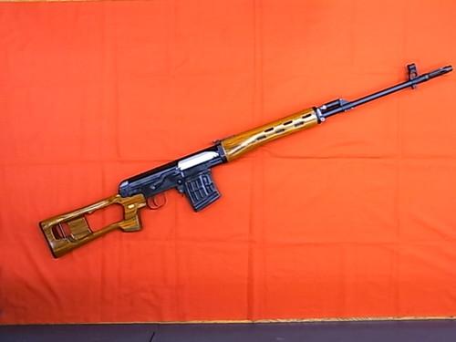 ガスガン WE SVD(ドラグノフ狙撃銃) アルミレシーバー 木製ストック Ver.