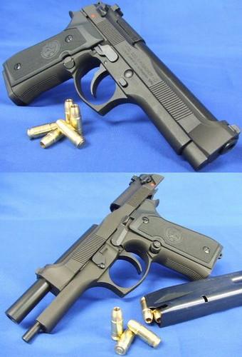 モデルガン マルシン M92F CQB HW
