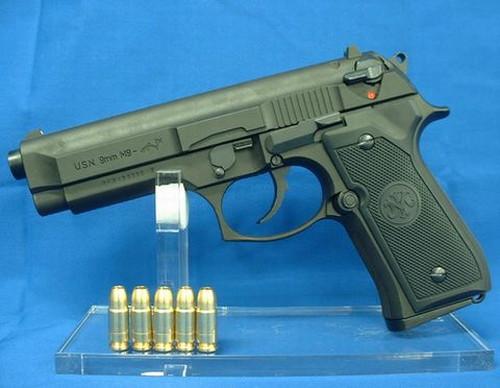 モデルガン マルシン U.S.N.9mm M9 ドルフィン マシンピストル HW