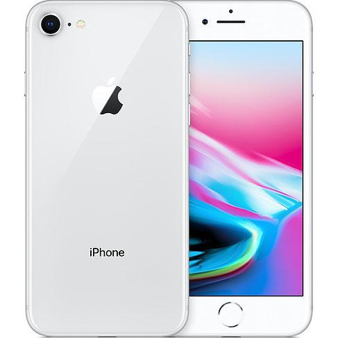 アップル iPhone8 SIMフリー モデル 64GB シルバー 整備済み品 格安SIM 対応