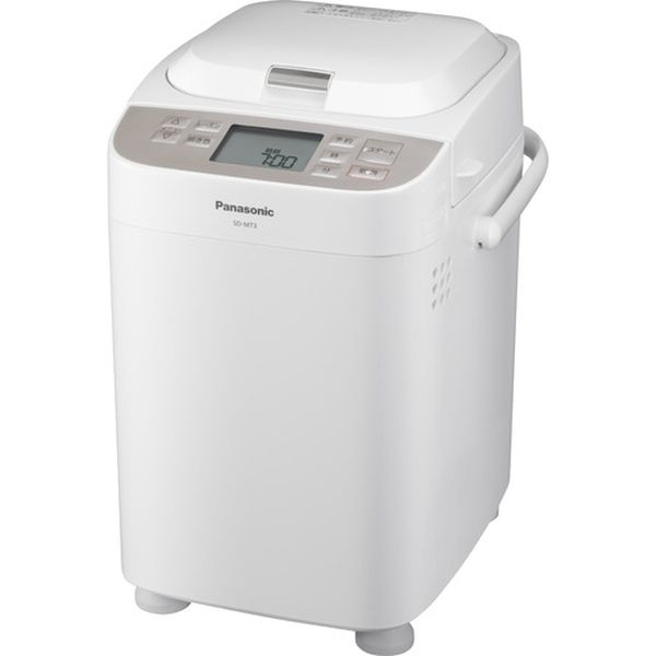 【送料無料】パナソニック(家電) 1斤タイプ ホームベーカリー (ホワイト) SD-MT3-W ホームベーカリー