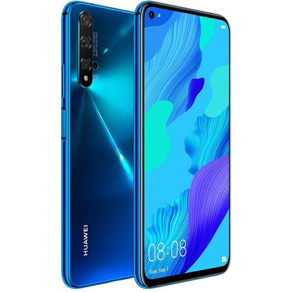 HUAWEI nova 5T (クラッシュブルー) ゲーミング 約6.26インチ フルビューディスプレイ 大容量 バッテリー スマホ スマートフォン 本体 SIMフリー テレワーク 在宅勤務 在宅ワーク に