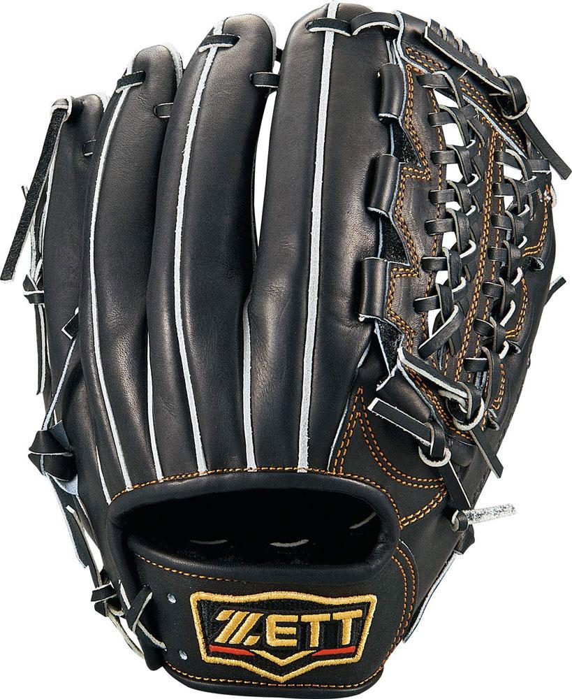 ゼット 硬式野球 グラブ プロステイタス 三塁手モデル 右投げ用 サイズ4 BPROG450 ブラック 1900色 2020年SSモデル