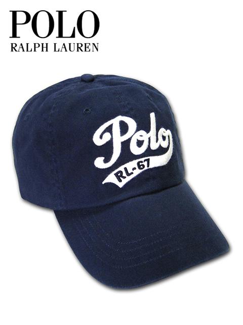 """【最安値に挑戦】【あす楽対応】【メンズ レディース キャップ・ネイビー】Polo Ralph Laurenポロ ラルフローレン""""男女兼用ラルフローレンPOLO刺繍キャップ"""""""