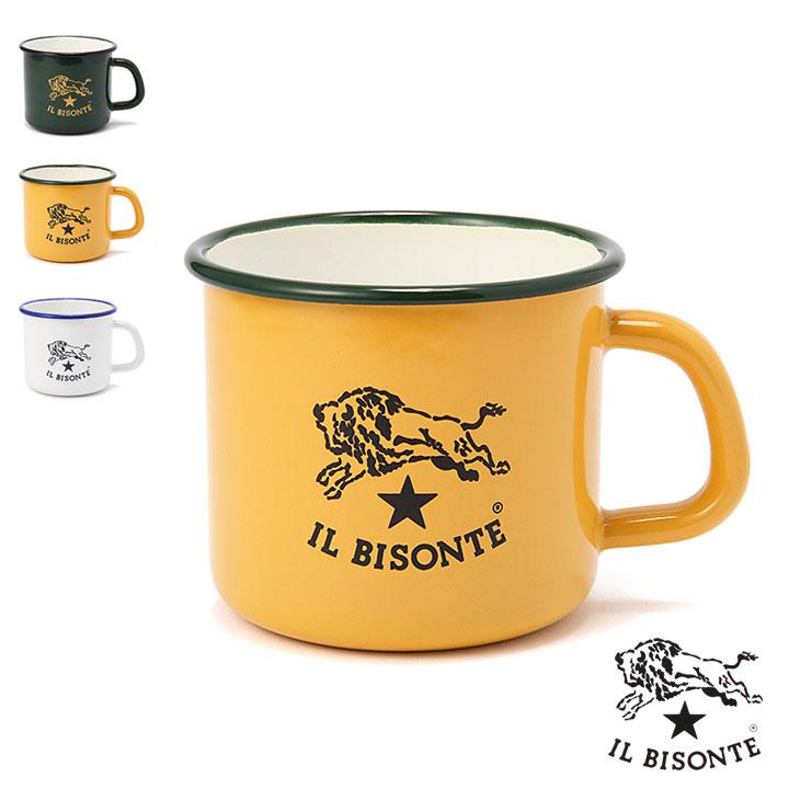 イルビゾンテ正規取扱店 IL BISONTE ホーローマグ イルビゾンテ ホーローマグカップ 5452404298 チープ 品質検査済