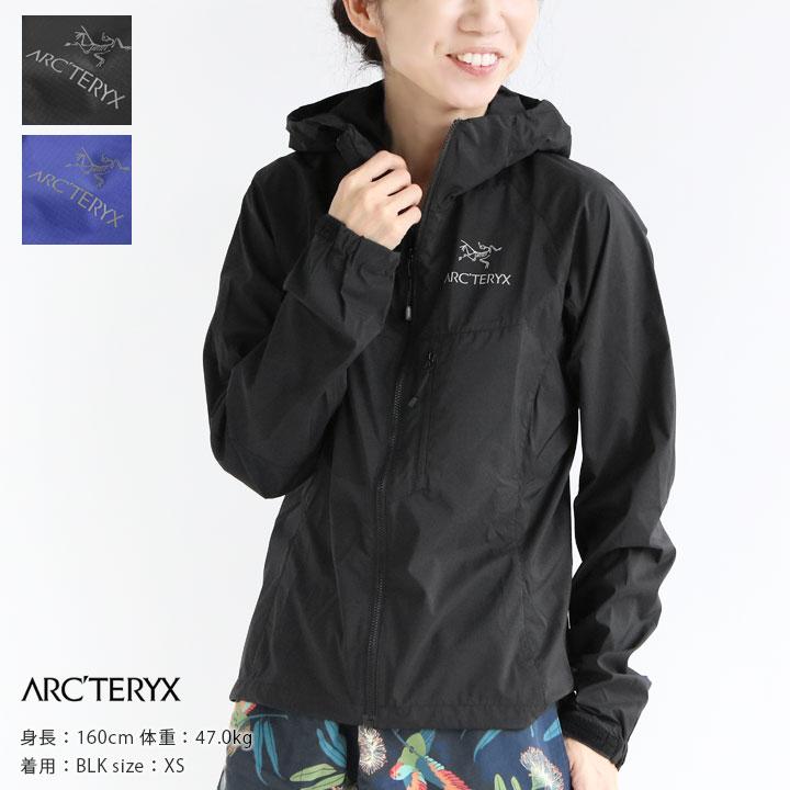 【正規販売店】ARC'TERYX(アークテリクス) SQUAMISH HOODY WOMEN'S(13661)