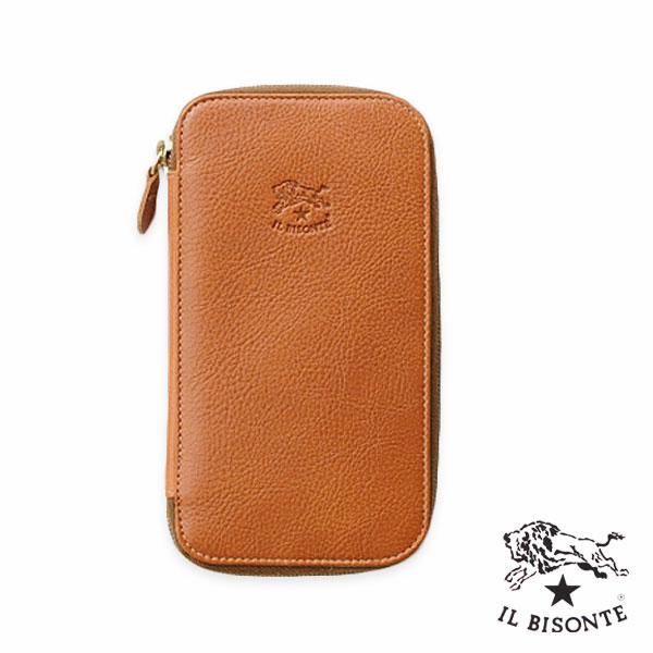 IL BISONTE(イルビゾンテ) ラウンドファスナー長財布(5452300640)