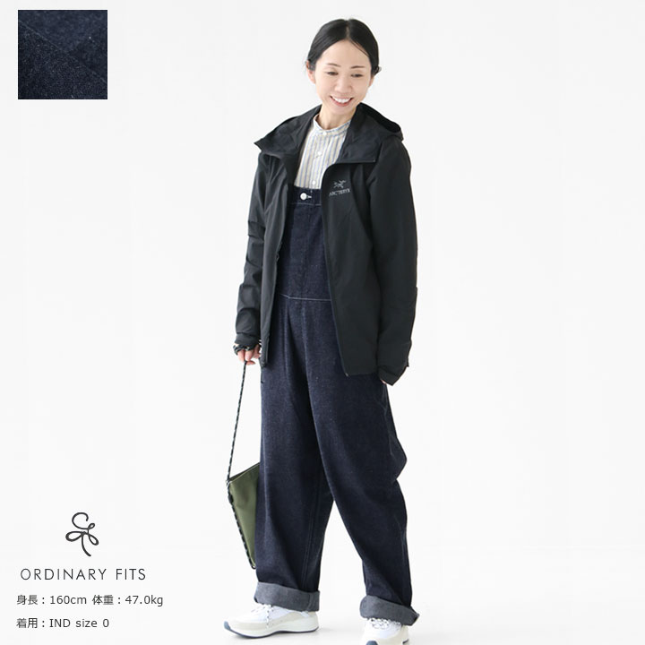 【10%OFF!5月7日午前9時30分までの期間限定セール】Ordinary fits(オーディナリーフィッツ) DUKE OVERALL DENIM(OF-O013OW)