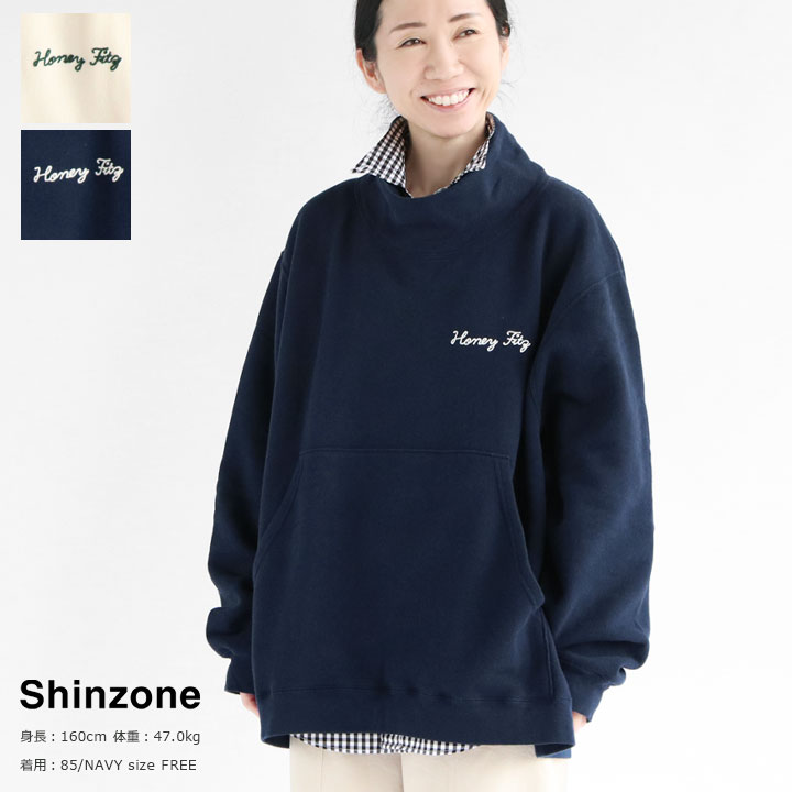 SHINZONE(シンゾーン) HI-NECK SWEAT(20SMSCU03)