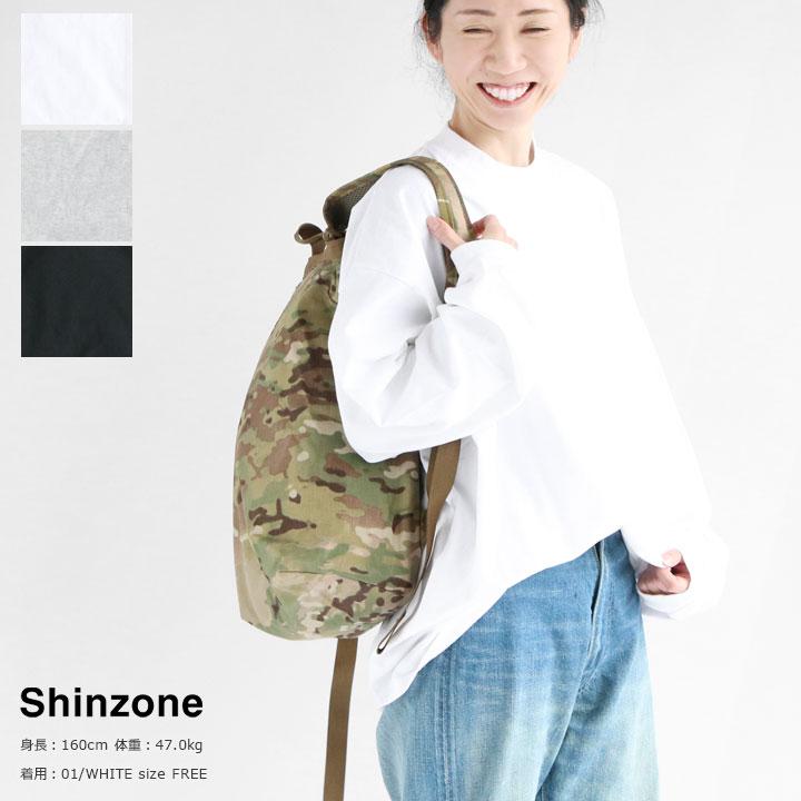 SHINZONE(シンゾーン) HI-NECK LONG TEE(20SMSCU09)