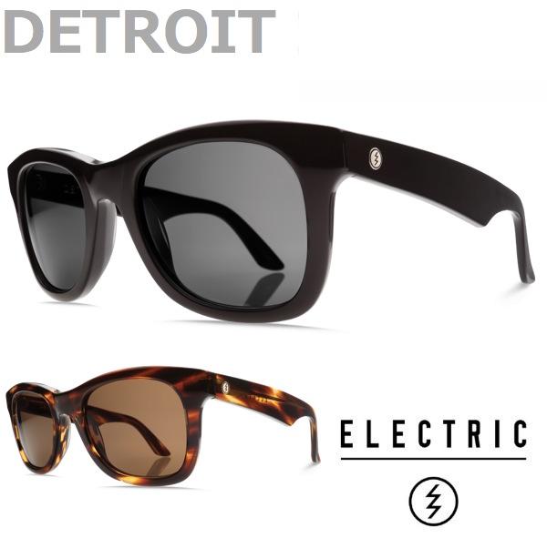 ELECTRIC エレクトリック サングラス グラサン メガネ アクセサリー 眼鏡 バンダナ 特典 プレゼント sunglasses スノーボード スケボー/DETROIT XL MATTE BLACK TORTOISE SHELL[MATTE GREY/ MATTE BRONZE]