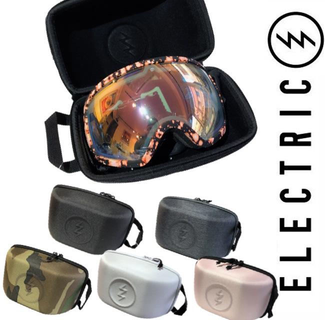 ELECTRIC エレクトリック Single Goggle Case 19-20モデル 日時指定 ゴーグルケース シングル 収納 在庫処分 アウトドア 保護 雪山 スキー スノーボード SNOW ゴーグルカバー