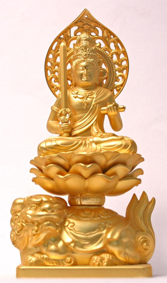 文殊菩薩座像