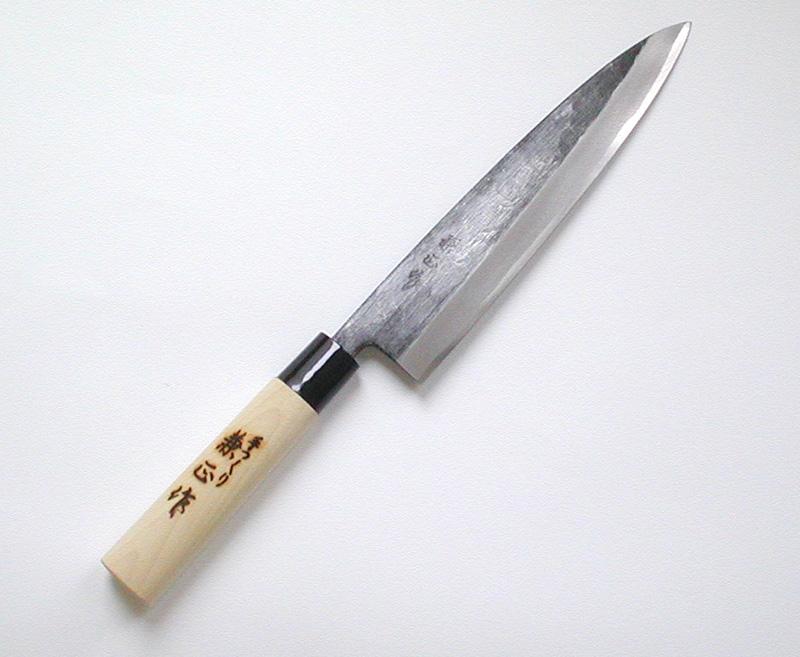 【兼正】 黒打身卸出刃 240mm