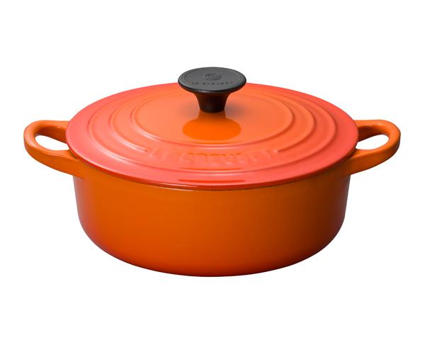 ルクルーゼ 【Le Creuset】 ココットジャポネーズ オレンジ 24cm 25052