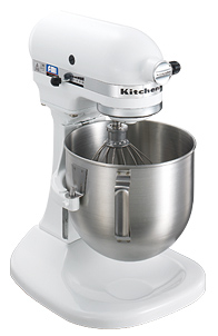 キッチンエイド 【Kithen Aid】 スタンドミキサー ボールスライドタイプ KSM5シリーズ ホワイト