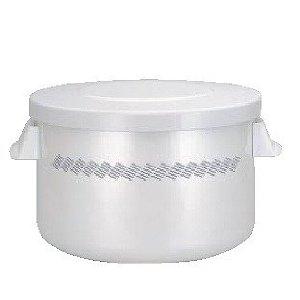 サーモス 【THRMOS】 高性能 保温おひつ シャトルジャー いなほ/ライスホワイト (2升用) GBA-20