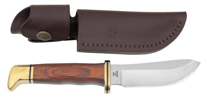 バックナイフ 【BUCK KNIVES】 スキナー ココボロ/Skinner Cocobolo 103BRS