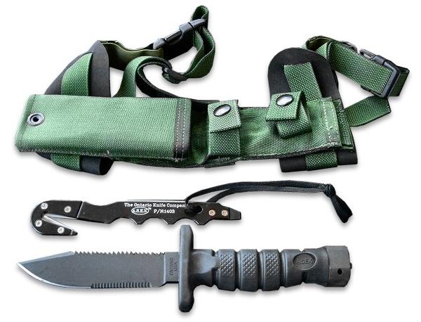 【ONTARIO】 オンタリオ ASEK Survival Knife System/ASEK サバイバルナイフシステム