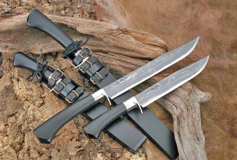 【関兼常】 関伝古式和鋼製錬 龍神火造匠・両刃・漆石目 210mm CW-5