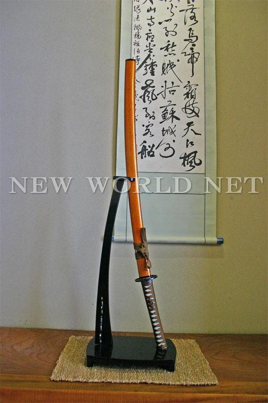 【美術模造刀剣】 金茶 大刀 AB-111