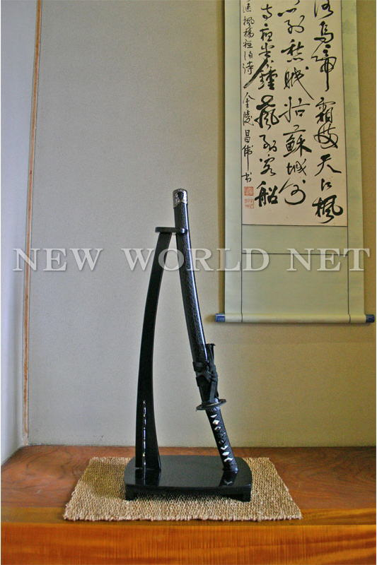 【美術模造刀剣】 宮本武蔵拵え 小刀