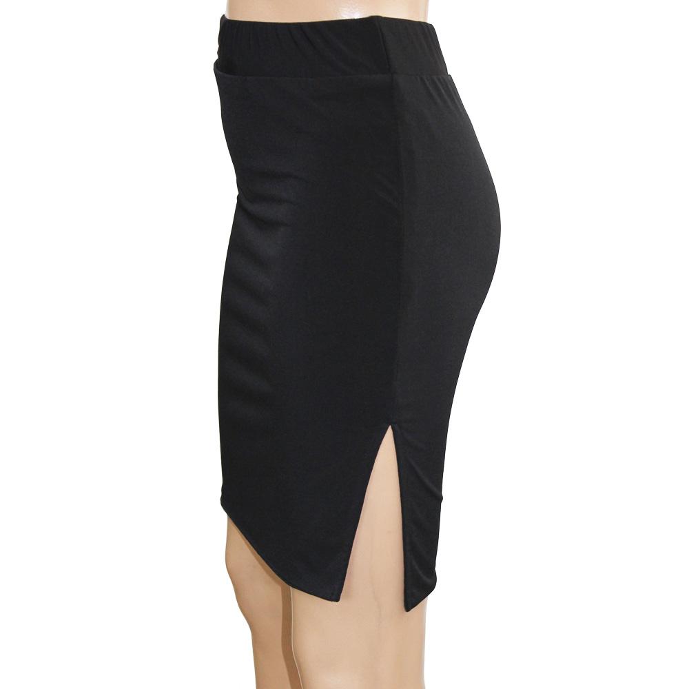 f223f72faaa4 ... Point 16 times tight skirt knee-length mini-Thailand Tomi varnish cart  pencil skirt ...