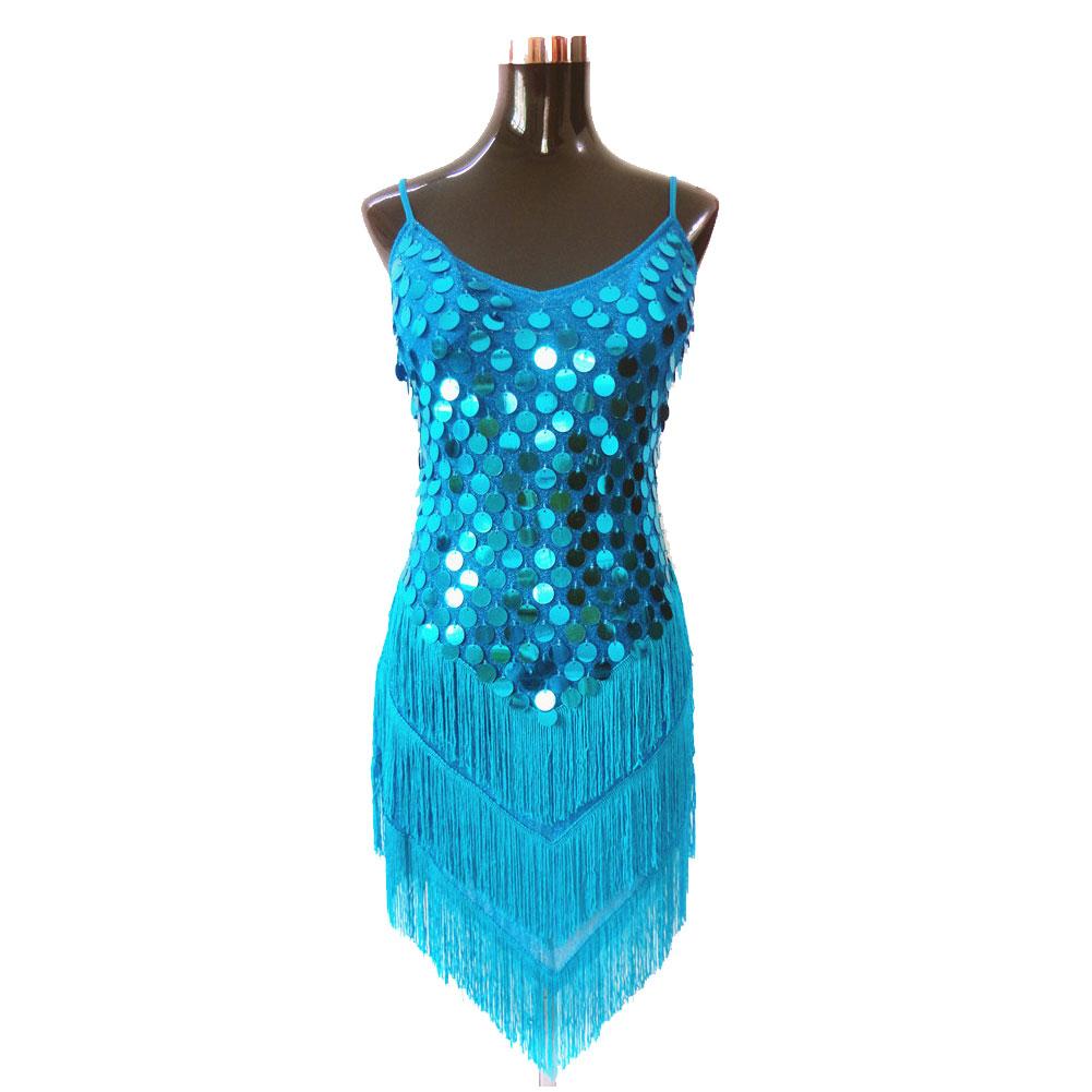 Costumenewyork Sequin Costume Burlesque Dance Costume Fringe Dress