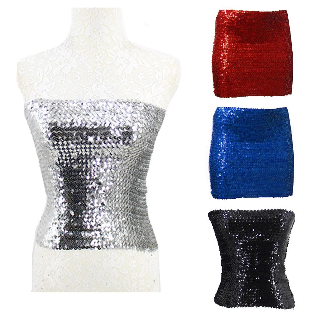 5b6d43fa49 CostumeNewyork  Sequin tube skirt ☆ silver